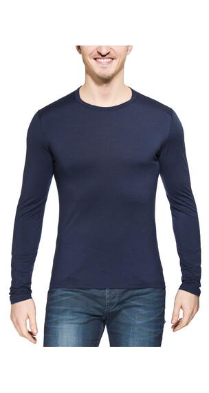 Icebreaker Oasis - Sous-vêtement en laine mérinos Homme - LS bleu